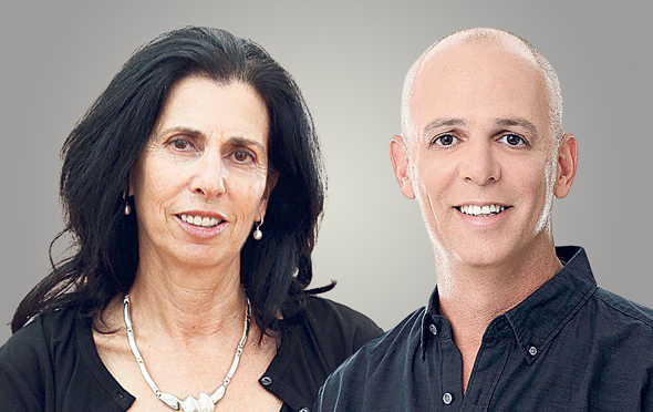 מימין דורית סלינגר ו יאיר לוינשטיין, צילום: אוראל כהן