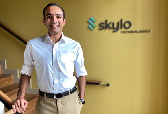 Skylo co-founder and  CEO Parthsarathi Trivedi. Photo: Skylo
