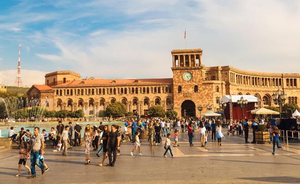 Yerevan, Armenia. Photo: Shutterstock