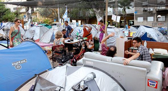 מחאת האוהלים ב-2011