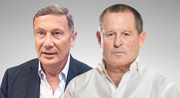 מימין מאיר שמיר ו נוחי דנקנר, צילומים: אוראל כהן, יובל חן