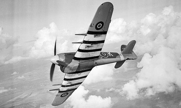 טייפון פונה, צילום: RAF