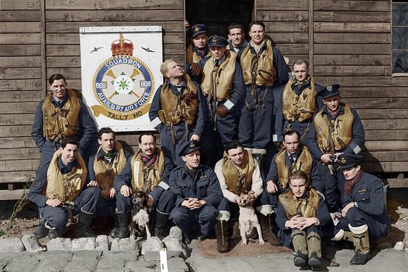 אנשי טייסת 609. ומה אם כולם יצאו למבצעי נקמה?, צילום: manstonhistory