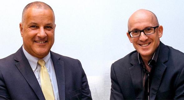 Ogen Chairman Ofir Ozeri (left), CEO Sagi Balasha.  Photo: Dana Tamari