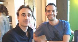 מימין לשמאל: עמרי דקלו מנכ״ל, יובל וינבוים סמנכ״ל טכנלוגיות Ubeya , קרדיט: Ubeya