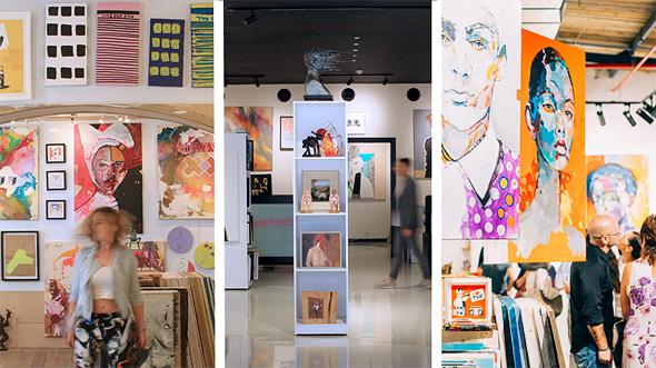 גלריה פחות מאלף – מעצבים מחדש את עולם האומנות.