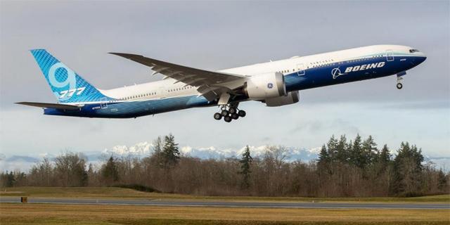 בואינג 777x, צילום: TNS