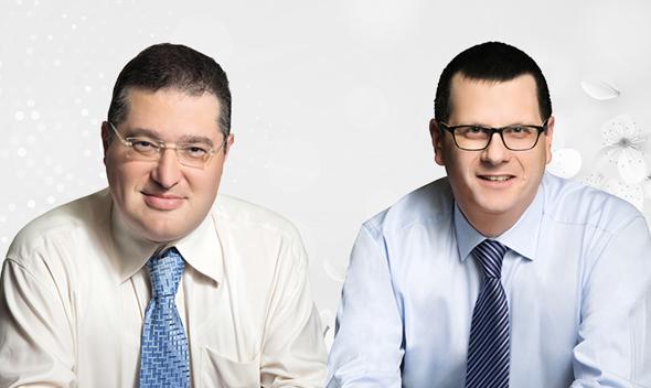 עורכי הדין פיטר שוגרמן ואלירן פורמן, צילום: יורם רשף