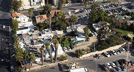שכונת סומייל צמת הרחובות ז'בוטינסקי פינת אבן גבירול ב תל אביב, צילום: תומי הרפז