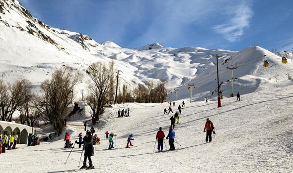 גולשי סקי איראנים  דיזין