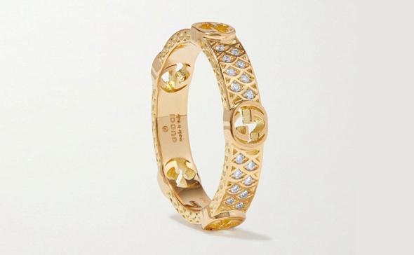 צמיד של גוצ'י. מותגי־העל רוצים נתח גם משוק התכשיטים הרווחי
