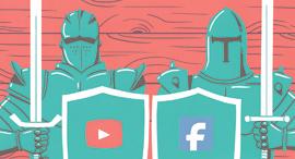 לא לתת לענקיות האינטרנט מפלט מבקרה עצמית, איור: יונתן פופר