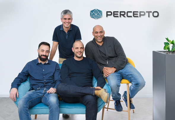 Percepto's co-founders. Photo: PR