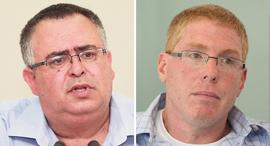 """מימין: מנכ""""ל דניה סיבוס רונן גינזבורג וח""""כ דוד ביטן, צילום: אוראל כהן"""