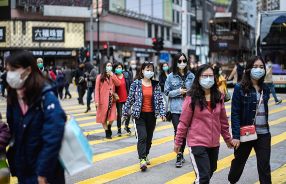 אזרחים בהונג קונג