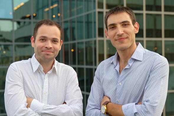 Nuweba, המנכ״ל עידו נאמן וסמנכ״ל טכנולוגיות יאן ציבולסקי