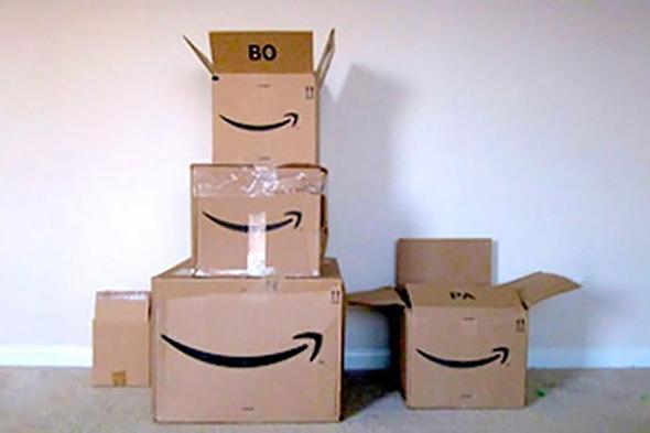 אמזון איקומרס החזרת מוצרים, צילום: שאטרסטוק
