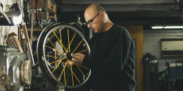 The Paralympic Medalist That Builds Wheelchairs for Athletes