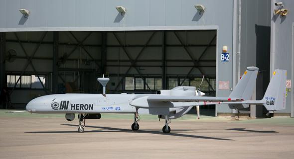 An IAI-made Heron UAV. Photo: IAI