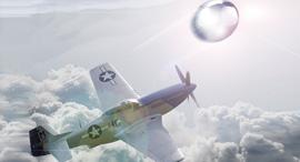 """הקברניט עב""""מ חללית מוסטנג רדיו בלון, צילום: Wikimedia"""