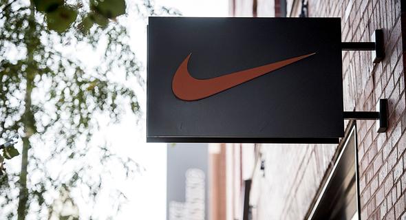 לוגו נייקי נייק חנות שיקגו, צילום: בלומברג