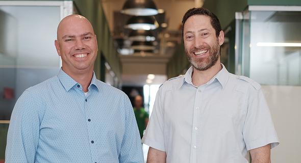 Los cofundadores Ran Korber (izquierda) y Emil Fisher. Foto: BreezoMeter