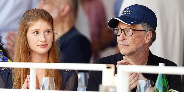 ביל גייטס והבת שלו ג