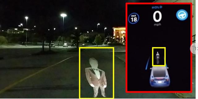 חוקרים ישראלים בלמו טסלה באמצעות הקרנת דמות על הכביש