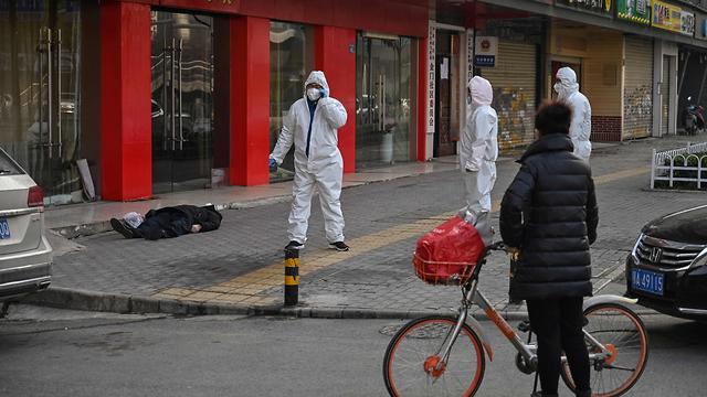 גופה בעיר ווהאן, סין