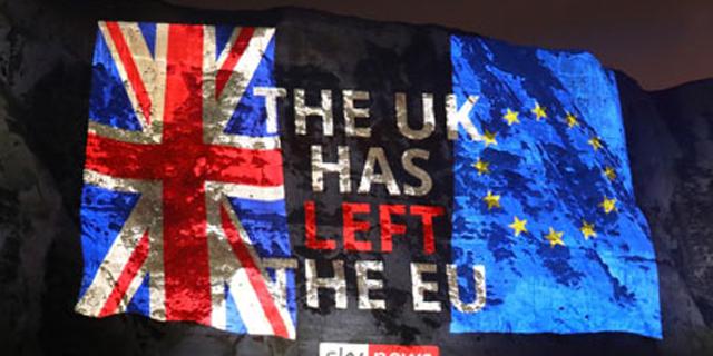 """אחרי 47 שנה - בריטניה עזבה את אירופה; ג'ונסון: """"זה לא הסוף, אלא ההתחלה"""""""