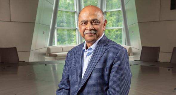 """מנכ""""ל יבמ IBM חדש ארווינד קרישנה, צילום: IBM"""