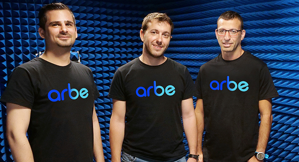 Arbe co-founders. Photo: Arbe