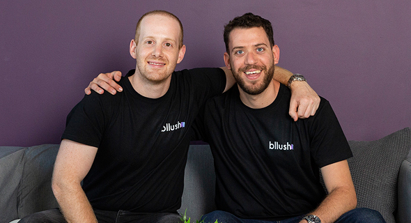 Bllush co-founders Tomer Dean (left) and Peleg Aran. Photo: Omer Stein
