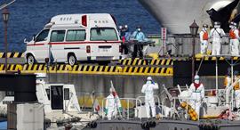 ספינת הקורונה, צילום: EPA