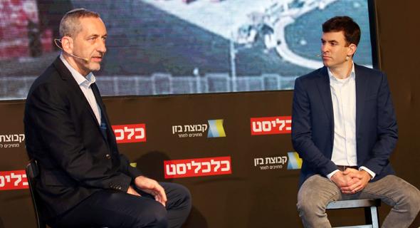 Lior Akavia (left) and Danny Peretz. Photo: Yariv Katz