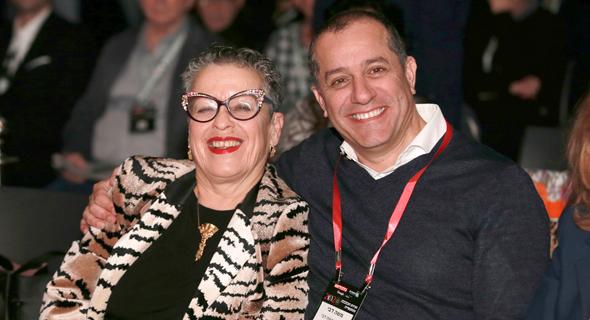 מימין משה דבי וחנה פריזן, צילום: אוראל כהן