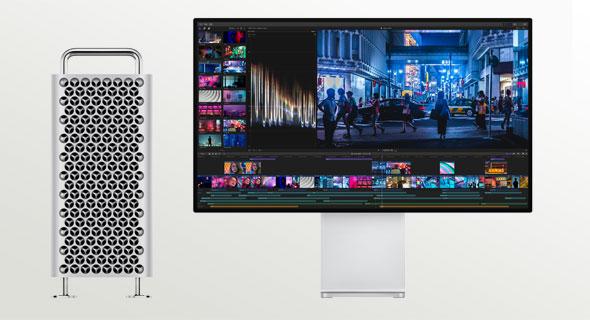 אפל מק פרו דסקטופ מחשב שולחני, צילום: מסך אתר אפל