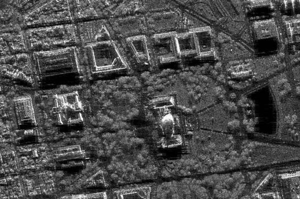 גבעת הקפיטול בוושינגטון הבירה, צילום SAR, צילום: Sandia National Laboratories