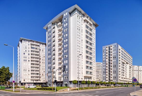 בניין מגדל זירת הנדלן