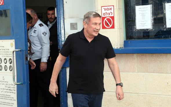 נוחי דנקנר משתחרר מהכלא 2.2.20, צילום: יריב כץ