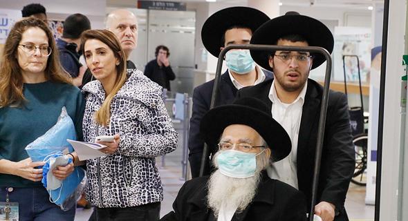 בית חולים שיבא תל השומר התמודדות עם נגיף הקורונה, צילום: שאול גולן