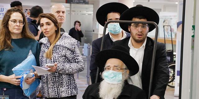 """מטופלים בבי""""ח שיבא , צילום: שאול גולן"""