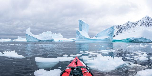 טמפרטורת שיא נמדדה באנטארקטיקה: 18.3 מעלות צלזיוס