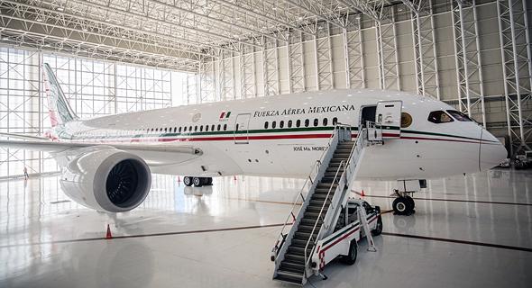 המטוס הנשיאותי של מקסיקו, צילום: בלומברג