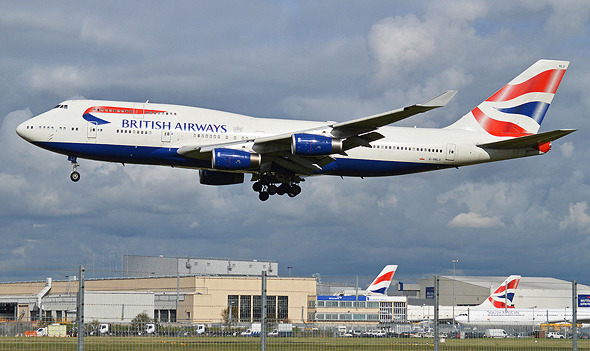 מטוס בואינג 747-436 של בריטיש איירווייז , צילום: ויקיפדיה