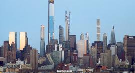 פנאי קו הרקיע של ניו יורק מגדלים, צילום: גטי אימג'ס