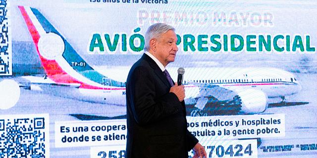 הפתרון היצירתי של נשיא מקסיקו למכירת המטוס הנשיאותי