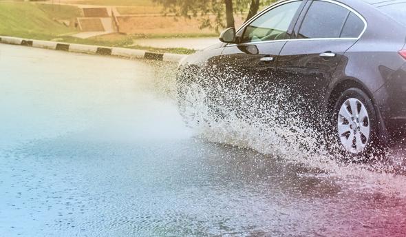 טיפים לנהיגה במזג אוויר סוער