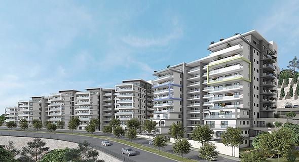 """פרויקט """"ורדיה מול הים"""". 300 דירות חדשות בשישה בניינים"""