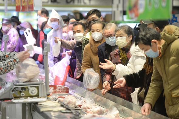 המחירים בסין עלו בשיעור חד